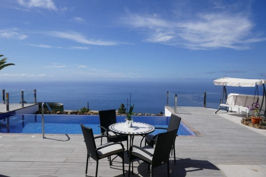 Villa Diamante, Frontaal Oceaanzicht