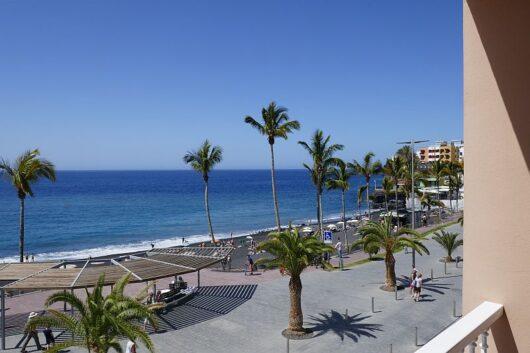 balkon zeezicht la palma