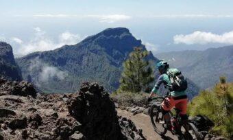Mountainbiken op La Palma