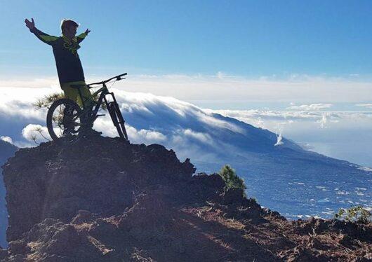 Biken op La Palma