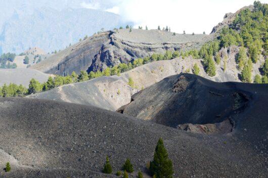 De vulkanen van de Cumbre Vieja.