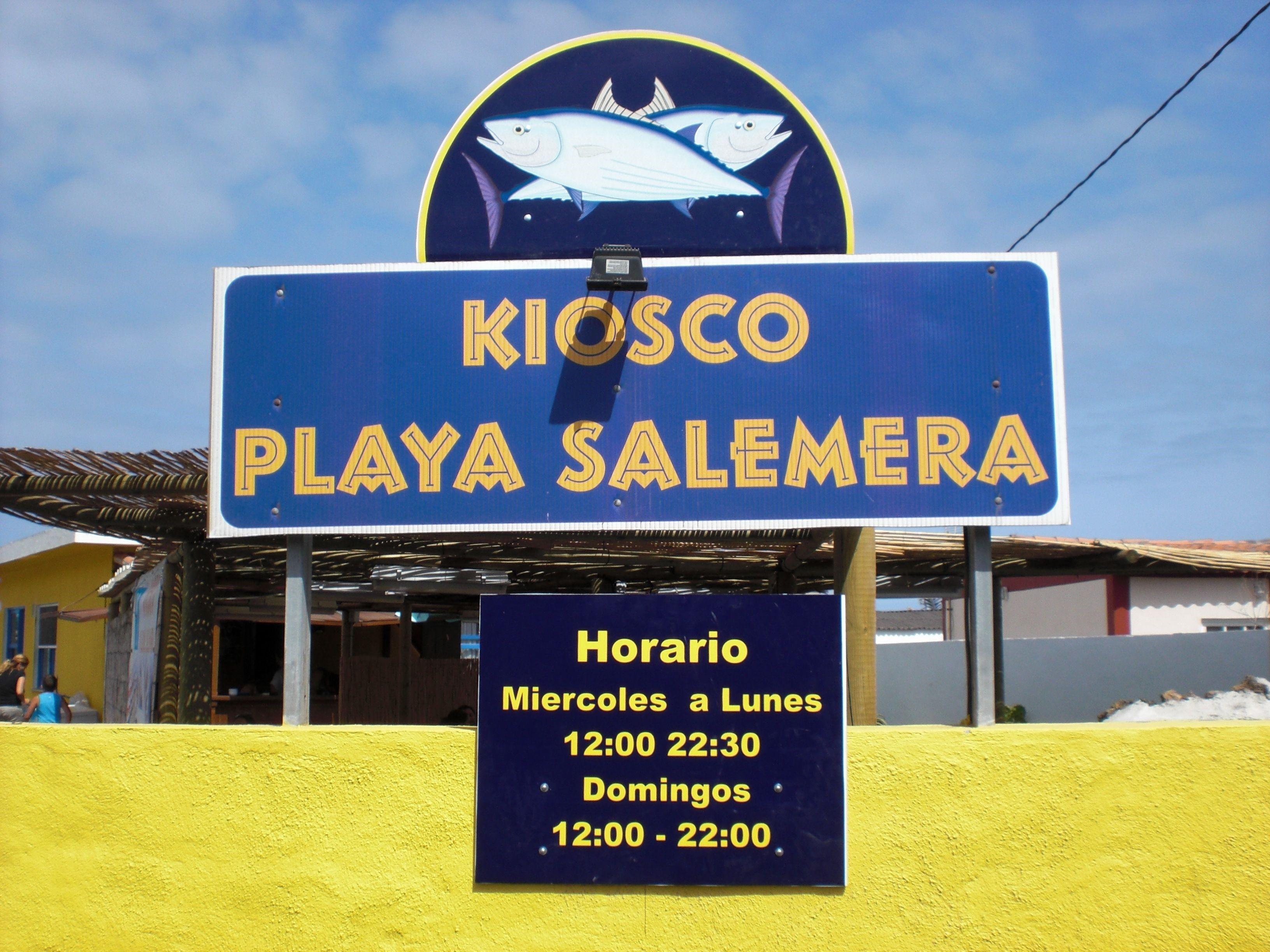 Kiosco Playa Salemera