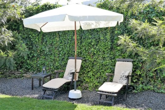 Tuin met privacy.