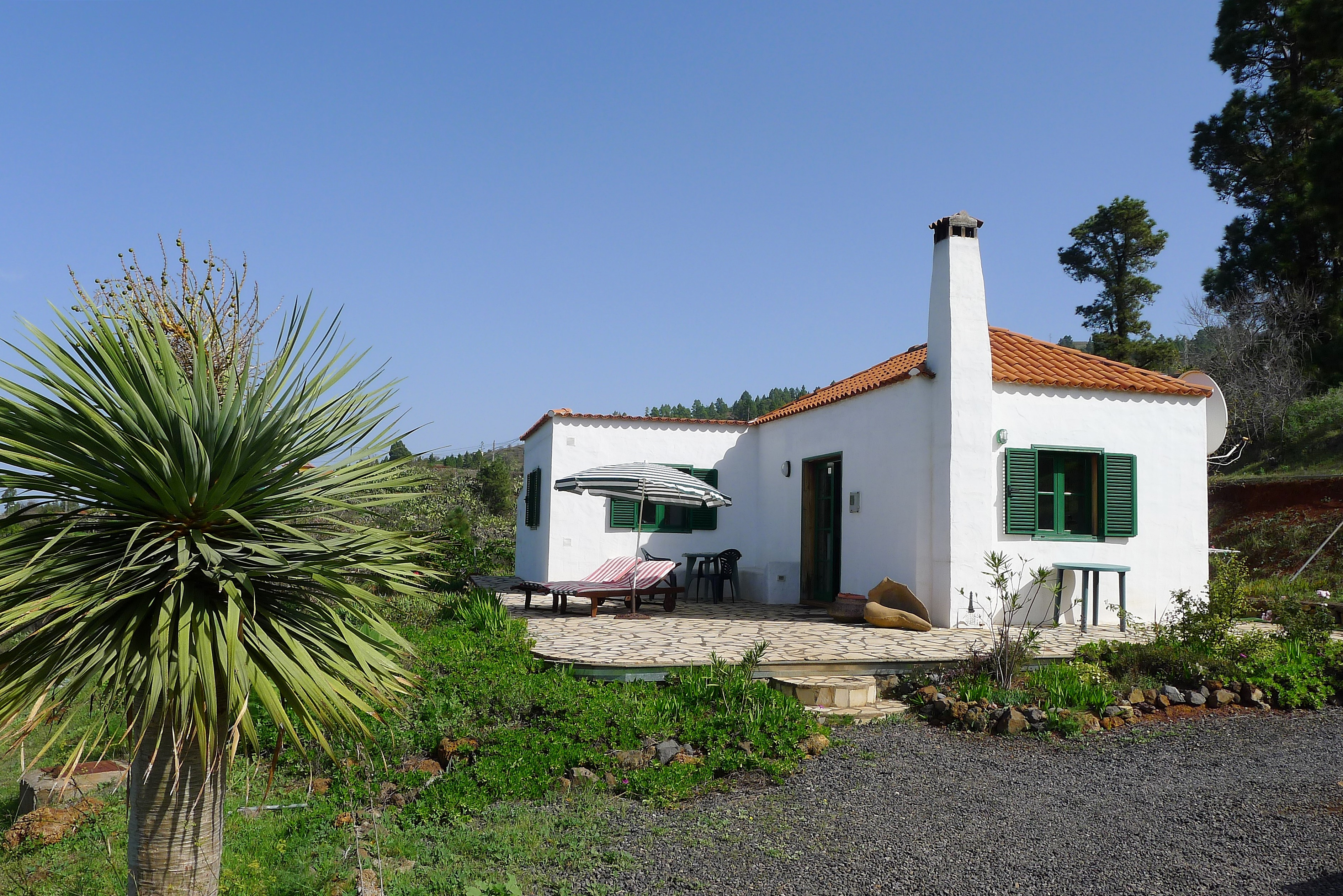 La Palma vakantiehuizen, casa Brezal