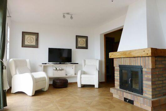 Woonkamer villa Orion
