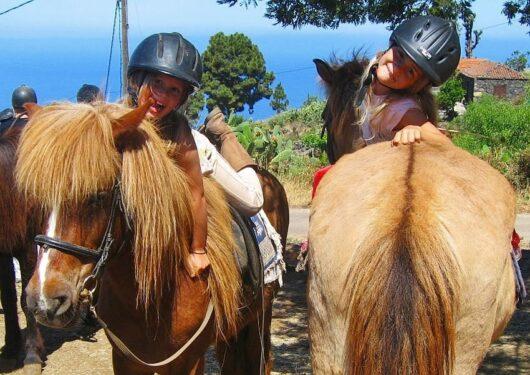 Paardrijden op La Palma.