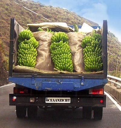 Typisch straatbeeld La Palma