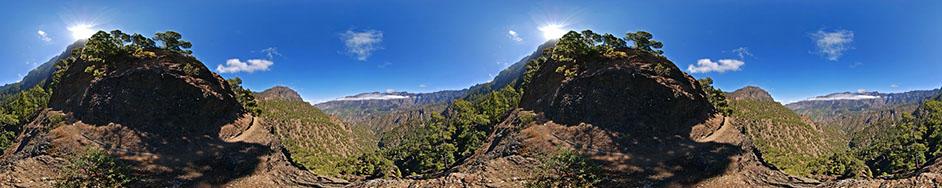 Panoramafotos La Palma