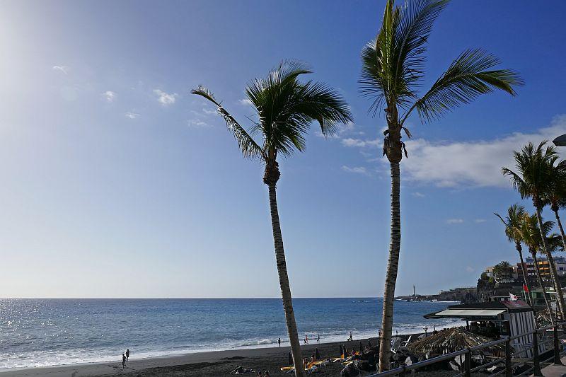 Strand van Puerto Naos