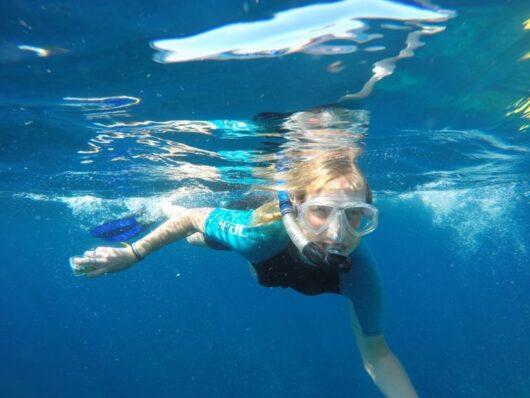 Snorkelen op La Palma.