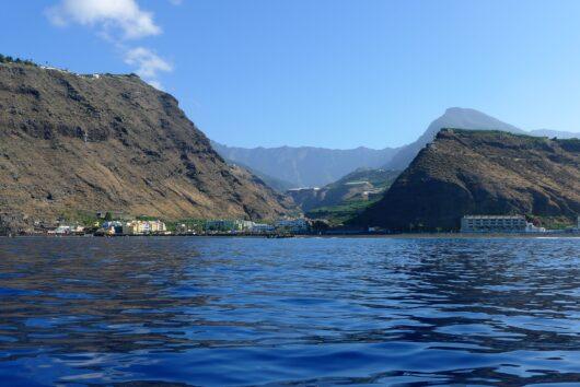 Westkust van La Palma