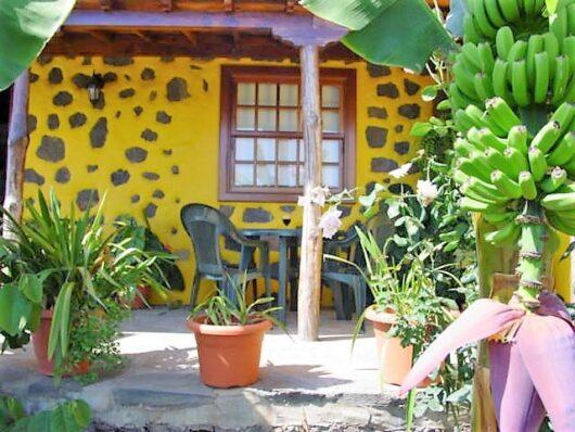 Veranda naast vakantiehuis Picos.