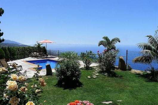 vakantiehuis la palma zwembad