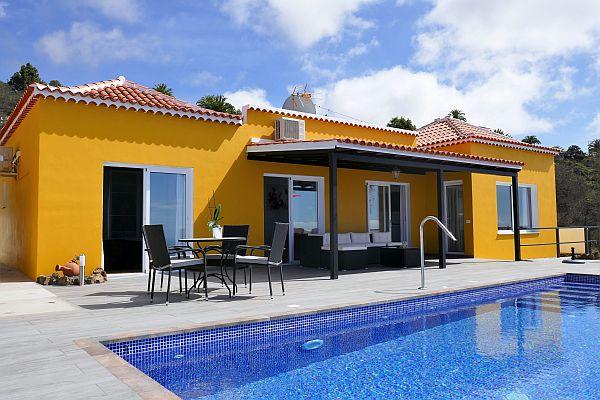 villa zwembad La Palma Diamante