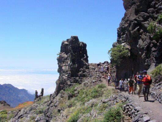 Wandelen op La Palma met gids.