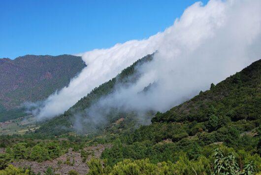 Wolkenwaterval La palma