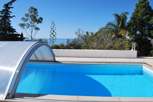Huis met zwembad op La Palma.