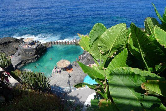 Natuurlijk zwembad Charco Azul